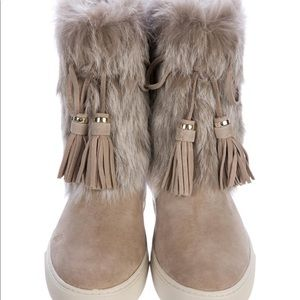 4311844c4784 Tory Burch Shoes - Tory Burch Anjelica Fur Boots